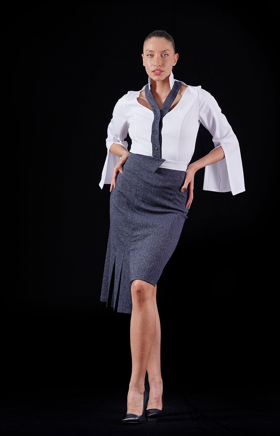 Kaja shirt & skirt